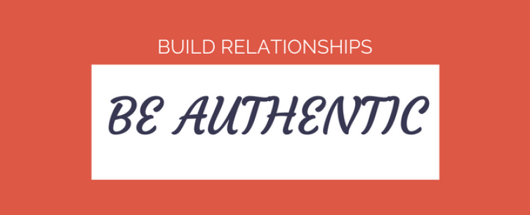 build relationships and trust across the business