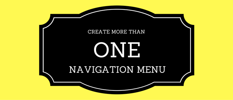 create navigation menu in wordpress theme