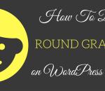 display round gravatar