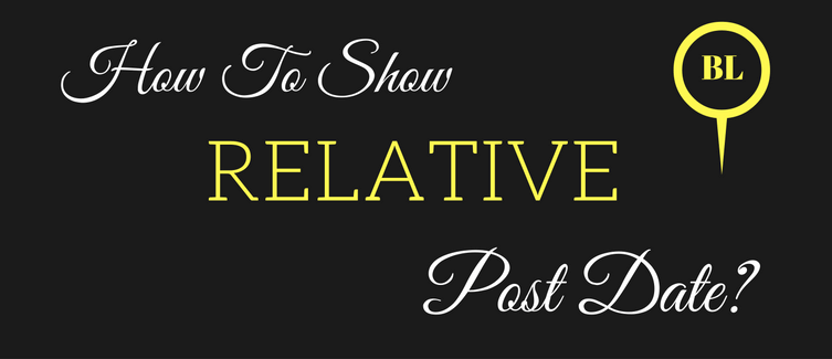 show relative post date