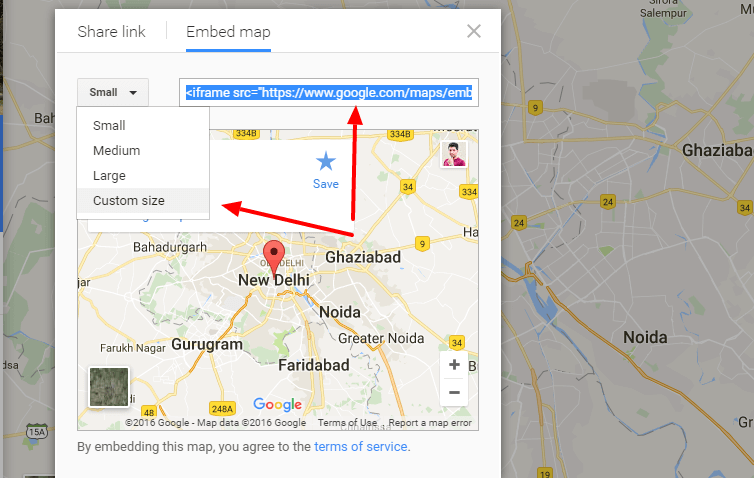 add google map in wordpress