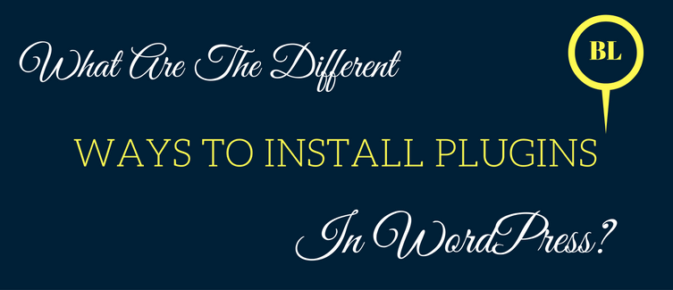 ways to install plugins