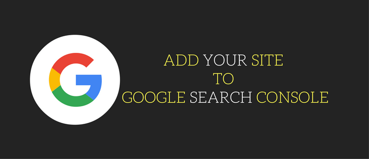 add your wordpress website to google search console