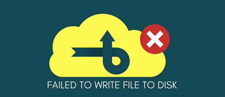 Failed to write file to disk error in WordPress