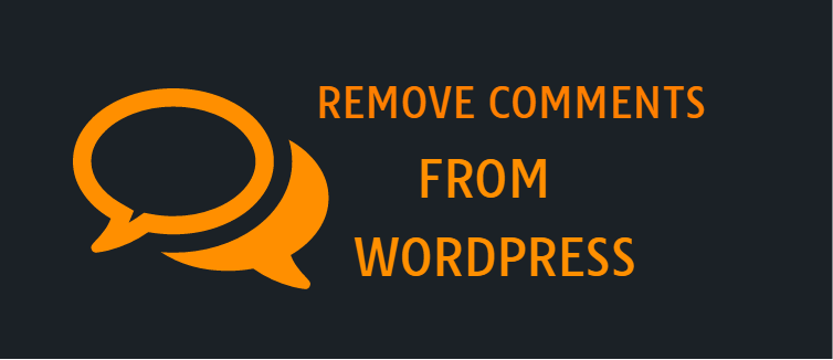 Remove comments from a WordPress website