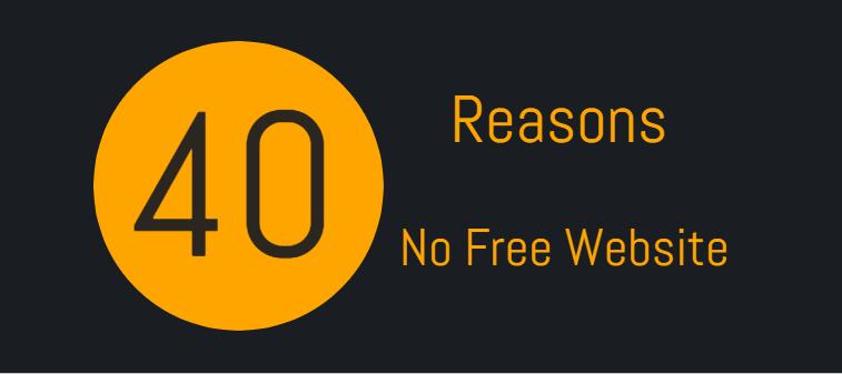 No free website