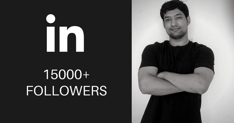 15000 LinkedIn followers