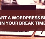 Start a WordPress blog on Bluehost
