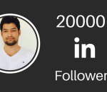 20000 LinkedIn Followers