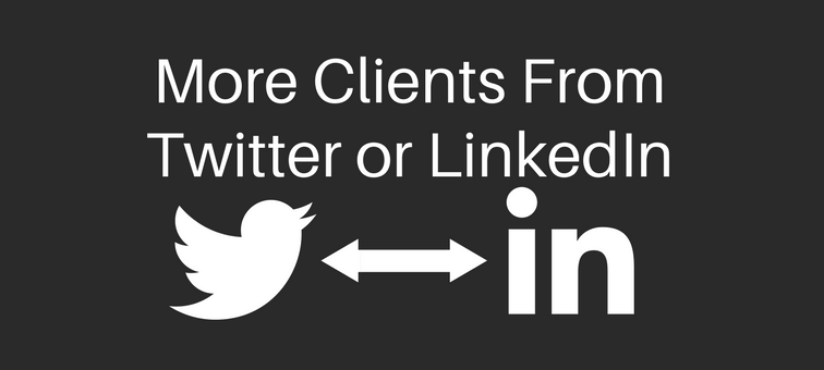 Can Twitter Make You Get More Clients Than LinkedIn Does
