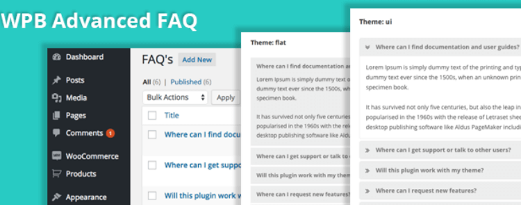 add faq page on your website