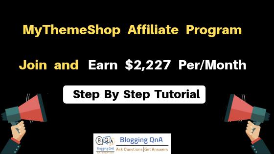 MyThemeShop Affiliate Program
