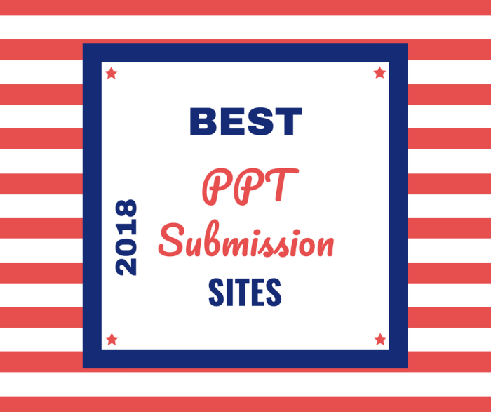 25 best ppt submission sites list latest 2018