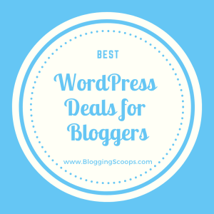 best wordpress deals and coupons for bloggers