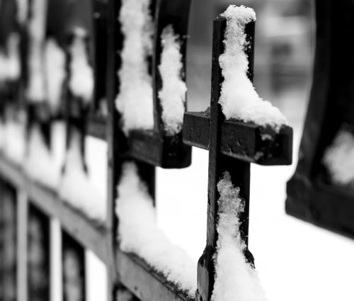 Cross in Winter