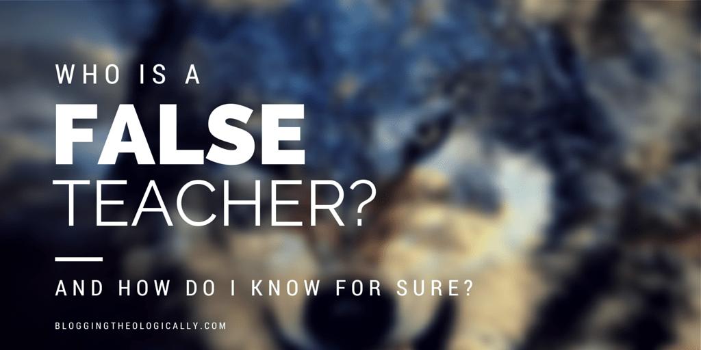 false-teacher