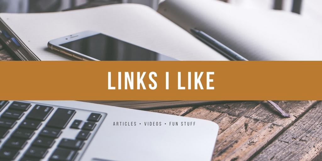 Links I like (2018 edition)