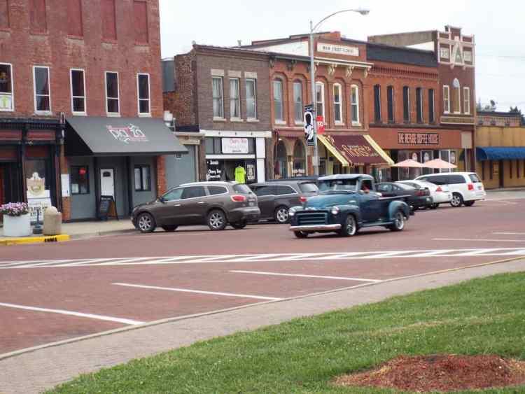 Classic American Truck In Carlinville Illinois