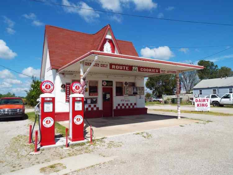 Dairy King Ice Cream in Commerce Oklahoma