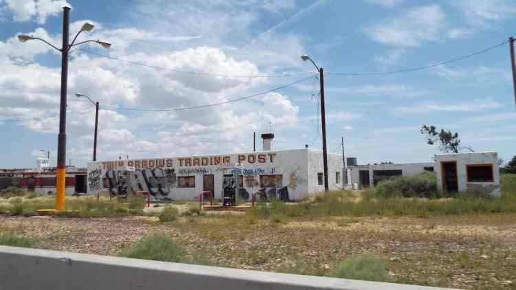 Twin Arrows trading post on Arizona Route 66
