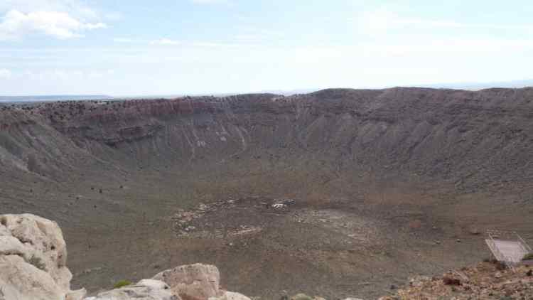 The Meteor City Crater