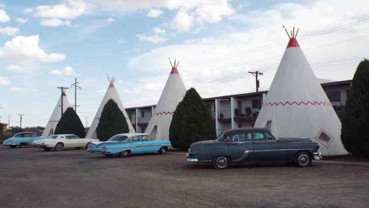 classic wig wam motel in Holbrook Arizona on old rooute 66