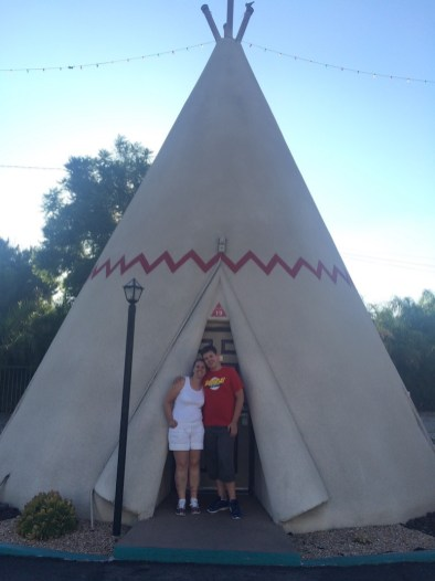 The wigwam Motel on route 66