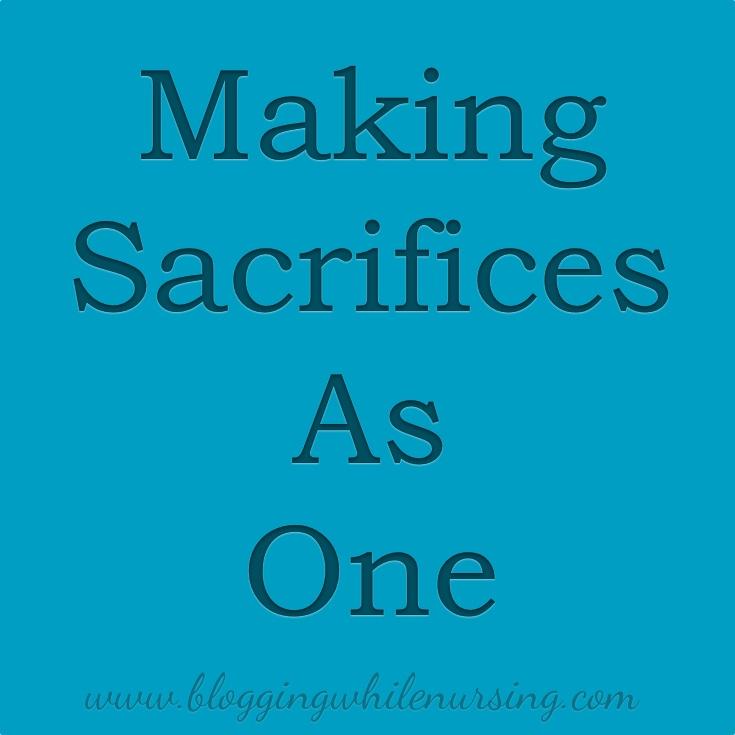 Sacrifices as one