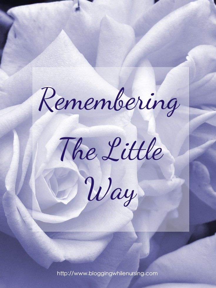 Remembering little ways full