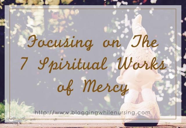 spiritual woks of mercy