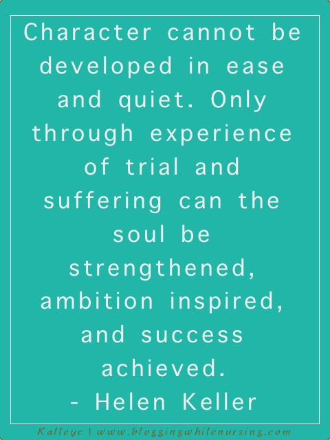 helen keller quote on suffering and growth