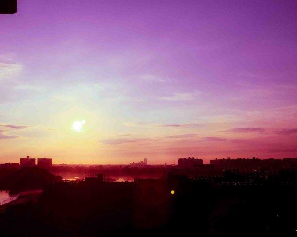 sunrise-brooklyn-purple haze-morning
