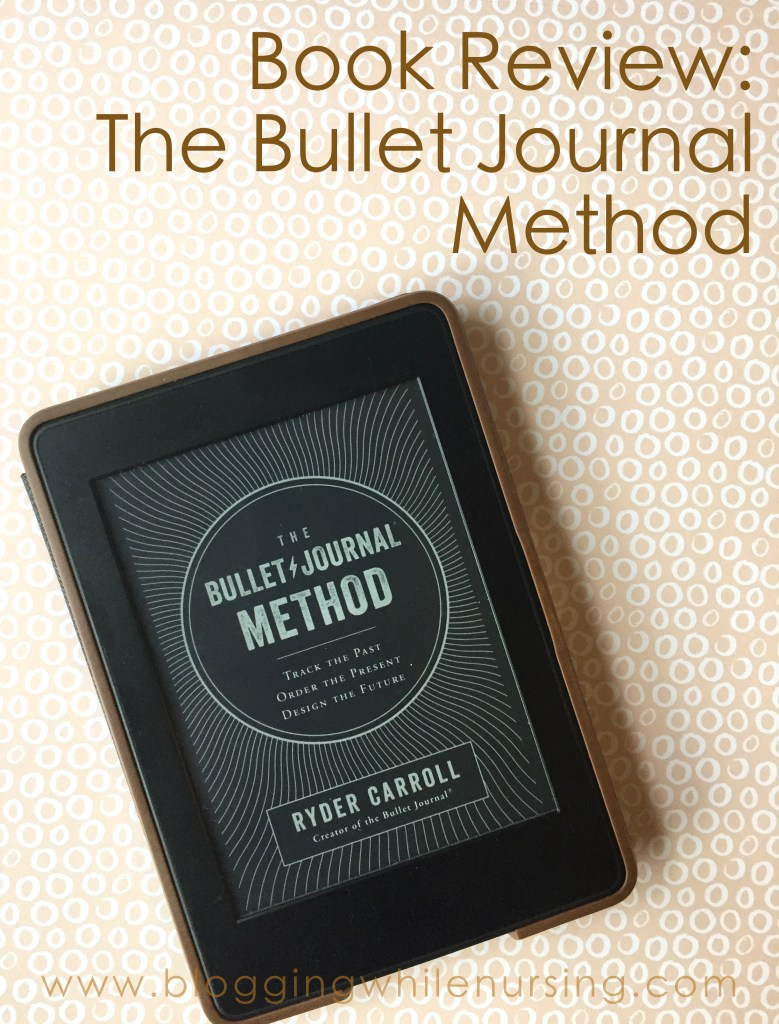 Bullet Journal Method e-book review