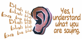 Active Listening on your blog - graphic of ear
