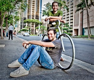 Joe and Carlos of Real Geeks Ride