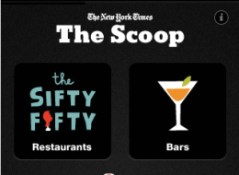 The Scoop iPhone App