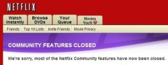 Netflix Community Features Disabled