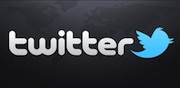 Twitter Logo - World Background