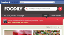 Foodily Utilizes Facebook To Provide Recipe Sharing Among Friends