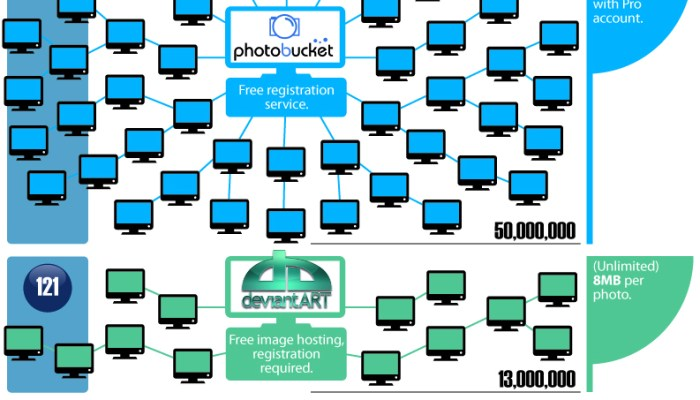 Online Photo Storage And Sharing: Infographic