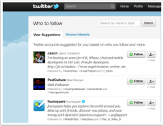 Twitter Follow Recommendations
