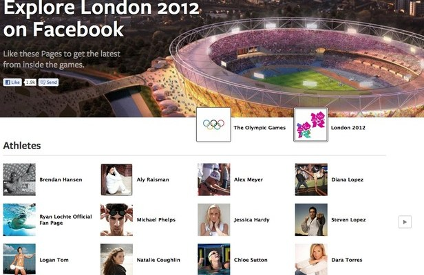 """Facebook Launches """"Explore London 2012"""" Platform Just In Time For Summer Olympics"""