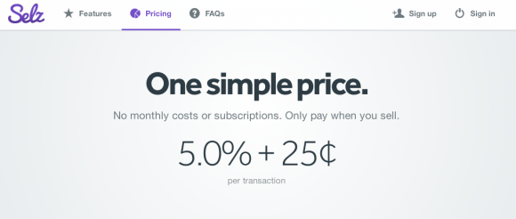 Pricing   Selz   Seriously simple selling.