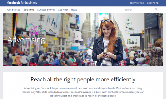 Facebook's paid social media advertising platform.