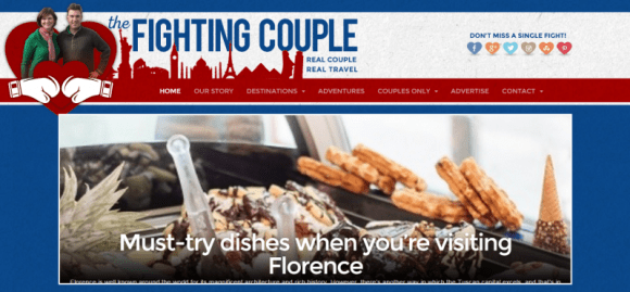 The Fighting Couple   Travel Ideas for Couples