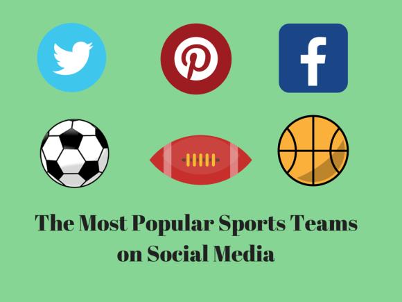 sports teams on social media