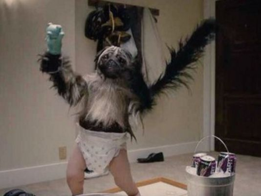 The Super Bowl Gets Weird with Puppymonkeybaby