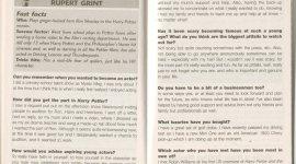 Nueva Entrevista de Rupert Grint en Libro para Jóvenes Millonarios