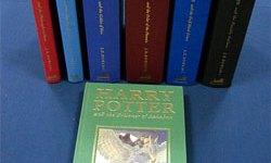 Primeras Ediciones Autografiadas de Libros de Harry Potter Subastadas en $35.481 Dólares