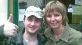 Daniel Radcliffe le cumple el sueño a una niña de 4 años